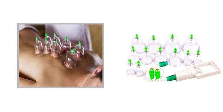8,90€ από 16€ για ένα Σετ Βεντούζες νέας τεχνολογίας, με 12 ανταλλακτικές κεφαλές για παραδοσιακή και αποτελεσματική θεραπεία, χωρίς κίνδυνο εγκαυμάτων, με παραλαβή από το κατάστημα Magic Hole στο Παγκράτι και με δυνατότητα πανελλαδικής αποστολής.