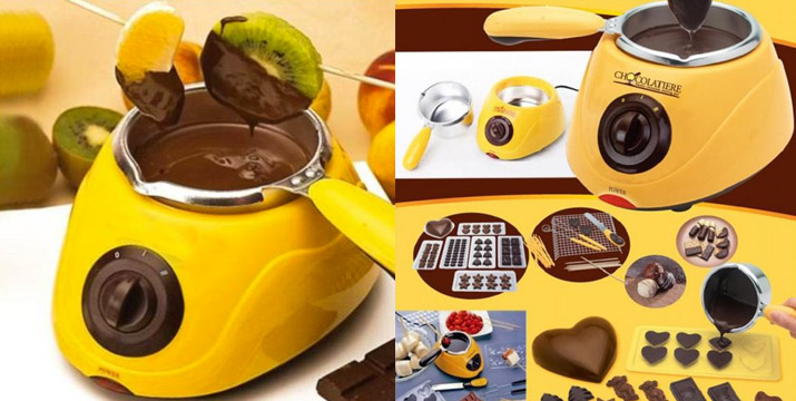 15,90€ από 34,90€ (-54%) για μια Συσκευή Fondue Σοκολάτας η οποία διαθέτει Φόρμες, Εξαρτήματακαι Αξεσουάρ Σερβιρίσματος, με παραλαβή από το κατάστημα Magic Hole στο Παγκράτι και με δυνατότητα πανελλαδικής αποστολής.