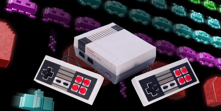 39,90€ από 59,90€ για μία Retro Οικογενειακή Κονσόλα Τηλεόρασης με 600 κλασικά Παιχνίδια όπως Mario, Robocop, Pacman, Ποδοσφαιράκι και πολλά άλλα, με ΔΩΡΕΑΝ πανελλαδική αποστολή στο χώρο σας από το κατάστημα Virals.Shop. εικόνα
