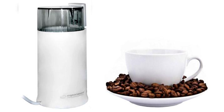 12,90€ από 19,90€ για έναν Ηλεκτρικό Μύλο Άλεσης Καφέ και Μπαχαρικών Esperanza, με δυνατότητα παραλαβής και πανελλαδικής αποστολής στο χώρο σας από την DoneDeals Goods. εικόνα
