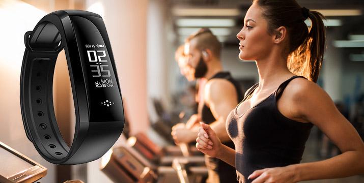 """18,90€ από 39,90€ (-53%) για ένα Ρολόι Smart BP HR Smartband σε μαύρο χρώμα που καταχωρεί και δίνει πληροφορίες για τις επιδόσεις σου, σε βοηθά να ορίσεις προγράμματα άθλησης και να κάνεις έναν πιο υγιεινό τρόπο ζωής,με παραλαβή ή δυνατότητα πανελλαδικής αποστολής στο χώρο σας από το """"Idea Hellas"""" στη Νέα Ιωνία. εικόνα"""