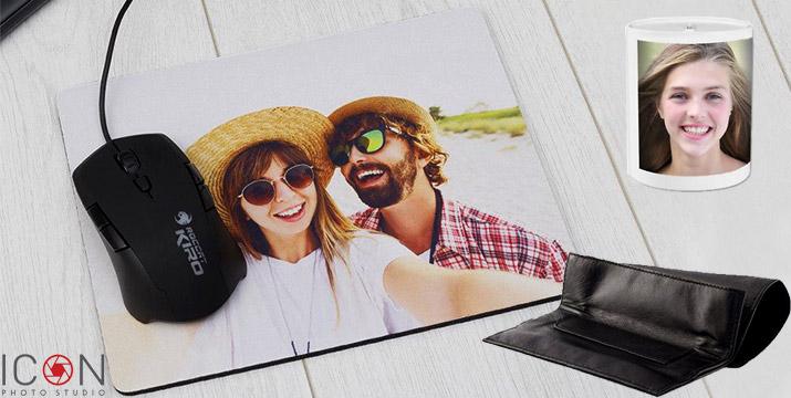 Από 4,90€ για την Εκτύπωση της αγαπημένης σας φωτογραφίας (ή κειμένου ή γκραβούρας) σε Mouse Pad, Κουμπαρά, Κούπα ή Καπνοθήκη, με δυνατότητα παραλαβής και πανελλαδική αποστολή στο χώρο σας από το ηλεκτρονικό κατάστημα του Icon Photo Studio στη Θεσσαλονίκη.
