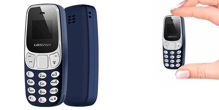 39,90€ από 52,90€ για ένα Κινητό Τηλέφωνο σε μέγεθος τσέπης με βασικές λειτουργίες, που μπορεί να συνδεθεί με το κινητό σας και δέχεται SIM, με ΔΩΡΕΑΝ πανελλαδική αποστολή στο χώρο σας από το κατάστημα Virals.Shop.Ν