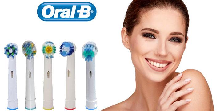 Από 6,90€ για 4 έως 16 Ανταλλακτικά Ηλεκτρικής Οδοντόβουρτσας τύπου Α-Ε συμβατά με Oral-B, με ΔΩΡΕΑΝ πανελλαδική αποστολή στο χώρο σας από την Idea Hellas.