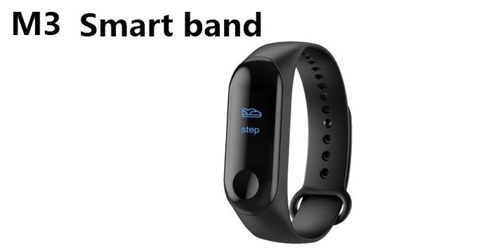 15,90€ από 25,90€ για ένα M3 Smart Fitness Bracelet το έξυπνο βραχιόλι με TFT έγχρωμη οθόνη υψηλής ανάλυσης και λειτουργίες όπως Ξυπνητήρι, Bluetooth Dialing, Υπενθύμιση κλήσης, Μέτρηση θερμίδων, Camera Remote Control, ,Καθιστική υπενθύμιση, διαχείριση ύπνου και Ειδοποίηση Social Media, με παραλαβή από το κατάστημα Magic Hole στο Παγκράτι και με δυνατότητα πανελλαδικής αποστολής.