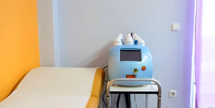 79€ από 710€ (-89%) για 11 Θεραπείες Αδυνατίσματος και Σύσφιξης που περιλαμβάνουν 2 Cryolipolisis (50 λεπτά η κάθε μία), 3 Cavitation (30' η κάθε μία), 3 Vacuum (30' η κάθε μία) και 3 RF-Ραδιοσυχνότητες (30'η κάθε μία) και μαζί μηνιαίο διατροφολογικό πρόγραμμα, στο Chic & Beauty & Spa στο Περιστέρι πλησίον μετρό Αγ. Αντωνιού.