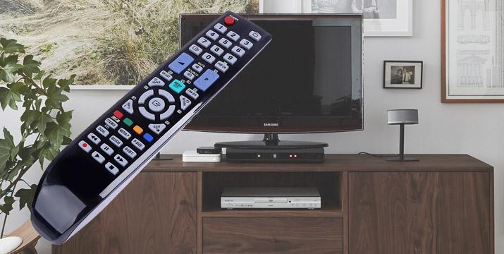 4,90€ από 14,90€ (-67%) για ένα Τηλεχειριστήριο Τηλεόρασης τύπου Samsung Original κατάλληλο για μοντέλα Samsung LCD/LED TV, με δυνατότητα παραλαβής και πανελλαδικής αποστολής στο χώρο σας από την DoneDeals Goods.