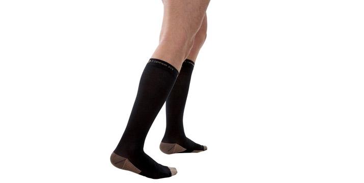 5,90€ από 12,90€ (-54%) για 1 Ζευγάρι Κάλτσες Διαβαθμισμένης Συμπίεσης Με Ίνες Χαλκού, με παραλαβή από το κατάστημα Magic Hole στο Παγκράτι και με δυνατότητα πανελλαδικής αποστολής.