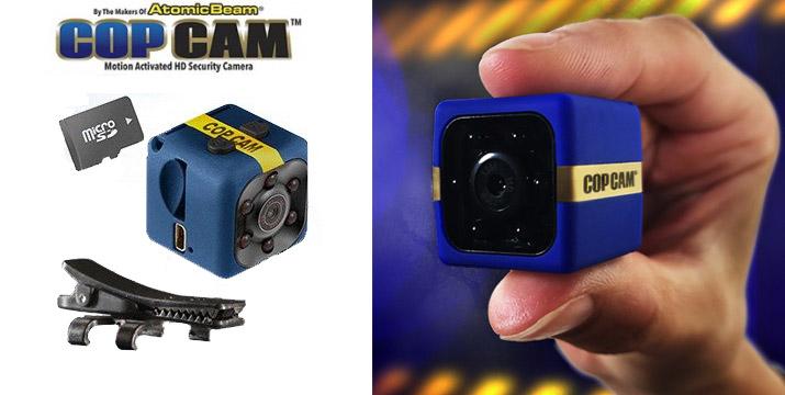 24,90€ από 34,90€ για μια Μini Φορητή Κάμερα με 8GB Κάρτα Μνήμης - Cop Cam, με παραλαβή από το κατάστημα Magic Hole στο Παγκράτι και με δυνατότητα πανελλαδικής αποστολής. εικόνα