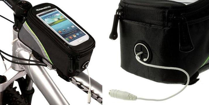 9,90€ από 15,90€ για ένα Τσαντάκι Ποδηλάτου με Touch Screen Θήκη Κινητού, με δυνατότητα παραλαβής και πανελλαδικής αποστολής στο χώρο σας από την DoneDeals Goods.