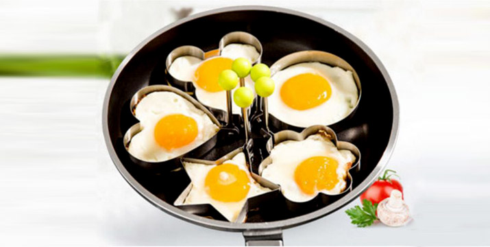 6,90€ από 11,90€ για ένα Σετ 7 Τεμαχίων Μεταλλικές Φόρμες για αυγά και ομελέτες, με δυνατότητα παραλαβής και πανελλαδικής αποστολής στο χώρο σας από την DoneDeals Goods. εικόνα