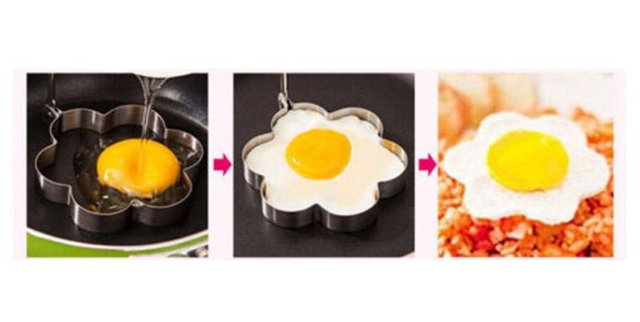 6,90€ από 11,90€ για ένα Σετ 7 Τεμαχίων Μεταλλικές Φόρμες για αυγά και ομελέτες, με δυνατότητα παραλαβής και πανελλαδικής αποστολής στο χώρο σας από την DoneDeals Goods.