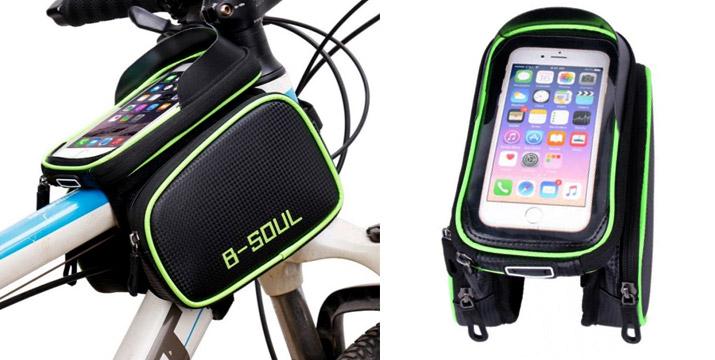 15,90€ από 26,90€ για έναν Διπλό Σάκο Σκελετού Ποδηλάτου με touch screen θήκη κινητού, με δυνατότητα παραλαβής και πανελλαδικής αποστολής στο χώρο σας από την DoneDeals Goods.
