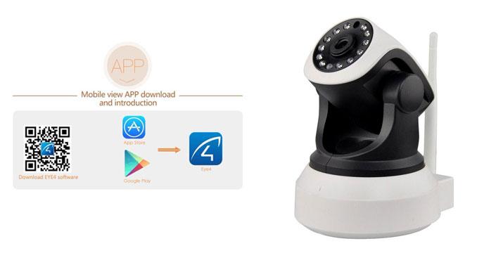 54,90€ από 115€ (-52%) για μια Ασύρματη Κάμερα IP Εσωτερικού Χώρου P2P H.264 με νυχτερινή λήψη και 1 Χρόνο Εγγύηση, με δυνατότητα παραλαβής και πανελλαδικής αποστολής στο χώρο σας από την DoneDeals Goods.