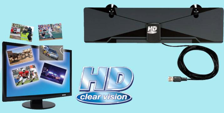 8,90€ από 14,90€ για μια Εσωτερική Ψηφιακή Κεραία HD Clear Vision για την παρακολούθηση αναλογικού και ψηφιακού τηλεοπτικού σήματος, με παραλαβή από το κατάστημα Magic Hole στο Παγκράτι και με δυνατότητα πανελλαδικής αποστολής.