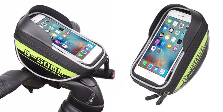 14,90€ από 19,90€ για ένα Τσαντάκι Τιμονιού Ποδηλάτου με Θήκη για κινητό, με δυνατότητα παραλαβής και πανελλαδικής αποστολής στο χώρο σας από την DoneDeals Goods.