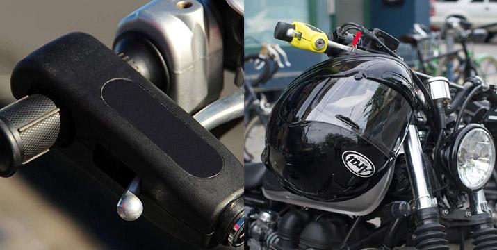 16,90€ από 23,90€ για μια Αντικλεπτική Κλειδαριά Ασφαλείας Μοτοσυκλέτας σε μαύρο χρώμα, με δυνατότητα παραλαβής και πανελλαδικής αποστολής στο χώρο σας από την DoneDeals Goods.
