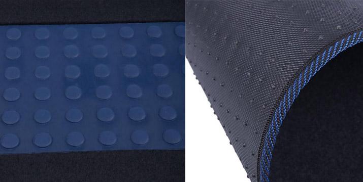 12,90€ από 34,90€ (-64%) για Πατάκια Αυτοκινήτου 4 Θέσεων σε Μαύρο/Μπλε χρώμα, με δυνατότητα παραλαβής και πανελλαδικής αποστολής στο χώρο σας από την DoneDeals Goods.