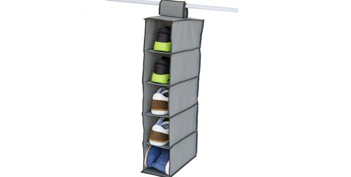 6,90€ από 11,90€ για μια Θήκη Αποθήκευσης με 5 Ράφια για να ξοικονομήσετε χώρο στη ντουλάπα σας, με δυνατότητα παραλαβής και πανελλαδικής αποστολής στο χώρο σας από την DoneDeals Goods.