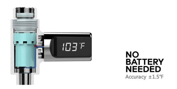 """12,90€ από 24,90€ (-48%) για ένα Ψηφιακό Θερμόμετρο Βρύσης Με Οθόνη LCD, με παραλαβή ή δυνατότητα πανελλαδικής αποστολής στο χώρο σας από το """"Idea Hellas"""" στη Νέα Ιωνία."""