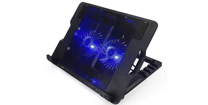 14,90€ από 25,90€ για μια Ρυθμιζόμενη Βάση Στήριξης και Ψύξης με 2 ανεμιστηράκια για Laptop 9''-17'', με δυνατότητα παραλαβής και πανελλαδικής αποστολής στο χώρο σας από την DoneDeals Goods.
