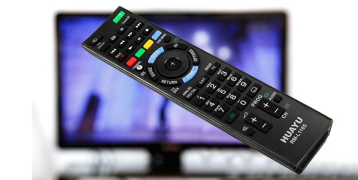 4,90€ από 9,90€ (-51%) για ένα Τηλεχειριστήριο Τηλεόρασης HUAYU RM-L1165 συμβατό με όλα τα μοντέλα Sony LCD/LED TV, με παραλαβή ή δυνατότητα πανελλαδικής αποστολής στο χώρο σας από την Idea Hellas στη Νέα Ιωνία. εικόνα