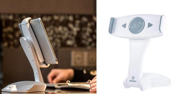 10,90€ από 16,90€ για μια Βάση Στήριξης Tablet με Περιστροφή 360ᵒ για συσκευές 7