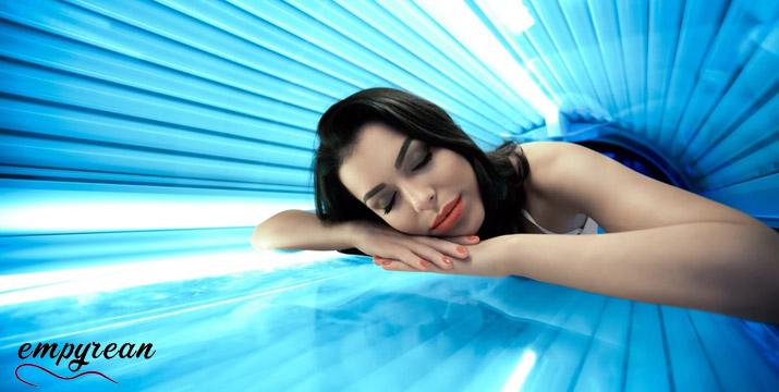 55€ από 120€ (-54%) για 120' Solarium με 48 λάμπες και σχεδόν μηδενική ακτινοβολία, στο Empyrean Massage & Beauty στο Αιγάλεω. εικόνα