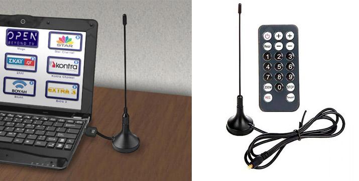 19,90€ από 28,90€ για μια Ψηφιακή Τηλεόραση σε USB stick για PC, πλήρως συμβατό με τα παλιότερα αλλά και τα νέα ψηφιακά κανάλια της DIGEA, με δυνατότητα παραλαβής και πανελλαδικής αποστολής στο χώρο σας από την DoneDeals Goods.