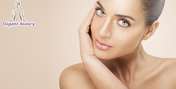 29€ από 360€ (-92%) για μία Ολοκληρωμένη Θεραπεία Ανάπλασης της επιδερμίδας και μείωσης ρυτίδων στο πρόσωπό σας που περιλαμβάνει 2 Ενέσιμες Μεσοθεραπείες, στο Elegant Beauty στη Νέα Ιωνία. εικόνα