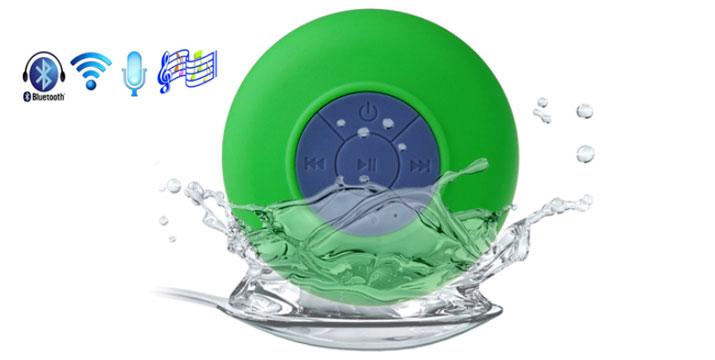 10,90€ από 19,90€ για ένα Αδιάβροχο Bluetooth Ηχείο με Βεντούζα διαθέσιμο σε 6 χρώματα, με παραλαβή από το κατάστημα Magic Hole στο Παγκράτι και με δυνατότητα πανελλαδικής αποστολής. εικόνα