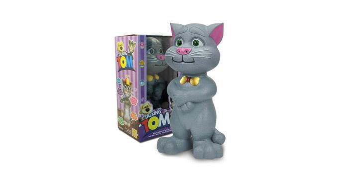 15,90€ από 29,90€ για έναν Γατούλη που μιλάει - Tom Talking Cat και ΔΩΡΟ Μπαταρίες, με παραλαβή από το κατάστημα Magic Hole στο Παγκράτι και με δυνατότητα πανελλαδικής αποστολής. εικόνα
