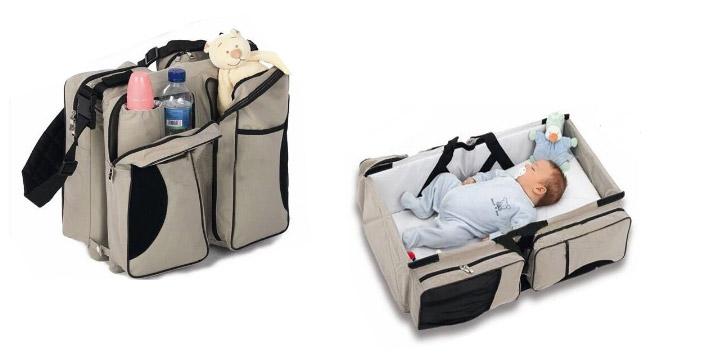 16,90€ από 34,90€ για ένα Πολυμορφικό Βρεφικό Κρεβατάκι και Τσάντα 2 σε 1 με χώρους για όλα τα απαραίτητα πράγματα για τη μεταφορά του μωρού σας, με παραλαβή ή δυνατότητα πανελλαδικής αποστολής στο χώρο σας από την Idea Hellas στη Νέα Ιωνία.