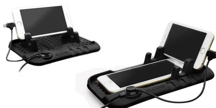 5,50€ από 11,50€ (-52%) για μια Βάση Στήριξης Smartphone για Αυτοκίνητο από σιλικόνη, με παραλαβή ή δυνατότητα πανελλαδικής αποστολής στο χώρο σας από την Idea Hellas στη Νέα Ιωνία.