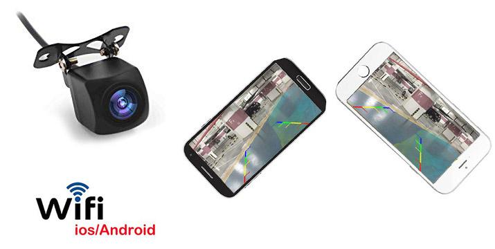 """35,90€ από 49,90€ για μια Mini Ασύρματη WiFi Κάμερα Οπισθοπορείας Αυτοκινήτου με σύνδεση με το κινητό και 1 Χρόνο Εγγύηση, με παραλαβή ή δυνατότητα πανελλαδικής αποστολής στο χώρο σας από το """"Idea Hellas"""" στη Νέα Ιωνία."""