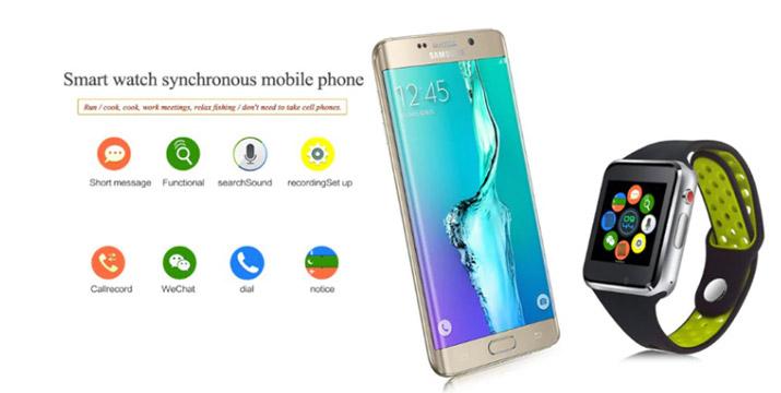 """35€ από 59€ για ένα Ρολόι Bluetooth Smart Watch M3 IOS Android και ΔΩΡΟ Ακουστικό Handsfree και 1 Χρόνο Εγγύηση, με παραλαβή ή δυνατότητα πανελλαδικής αποστολής στο χώρο σας από το """"Idea Hellas"""" στη Νέα Ιωνία."""