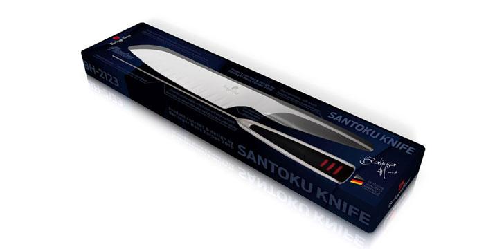 15,90€ από 39,90€ (-60%) για ένα Μαχαίρι Santoku Berlinger Haus με λεπίδα από ανοξείδωτο ατσάλι, με δυνατότητα παραλαβής και πανελλαδικής αποστολής στο χώρο σας από την DoneDeals Goods.