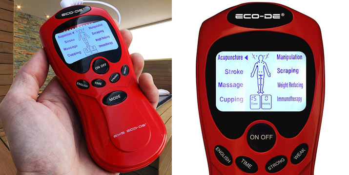 17,90€ από 29,90€ για μια  Φορητή Συσκευή Ηλεκτροδιέγερσης EMS με 8 προγράμματα με 15 επίπεδα έντασης, Οθόνη LCD και 1 Χρόνο Εγγύηση καλής λειτουργίας, με δυνατότητα παραλαβής και πανελλαδικής αποστολής στο χώρο σας από την DoneDeals Goods.