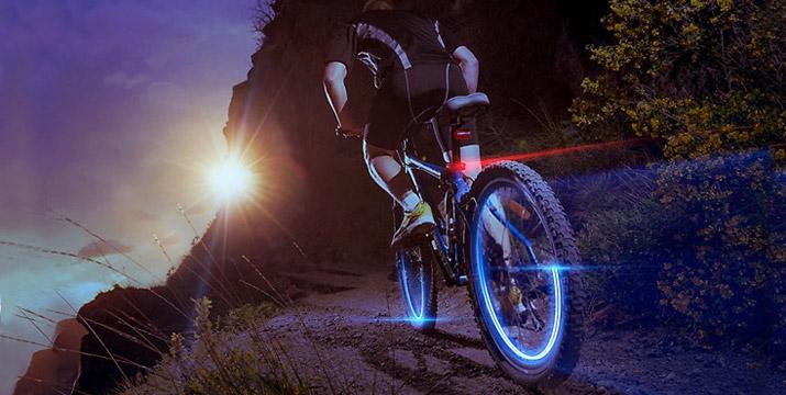 4,90€ από 9,90€ για 2 Τμχ Φώτα LED για Τροχούς Ποδηλάτου σε Ροζ ή Μπλε Χρώμα, με δυνατότητα παραλαβής και πανελλαδικής αποστολής στο χώρο σας από την DoneDeals Goods.