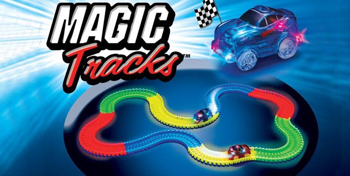 """13,90€ από 29,90€ (-53%) για έναν Αυτοκινητόδρομο με Φως – Magic Tracks για παιδιά, με παραλαβή ή δυνατότητα πανελλαδικής αποστολής στο χώρο σας από το """"Idea Hellas"""" στη Νέα Ιωνία. εικόνα"""