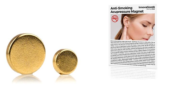 9,90€ από 19,90€ για ένα Μαγνητικό Σκουλαρίκι Διακοπής Καπνίσματος που θα σας βοηθήσει να κόψετε το κάπνισμα με εύκολο και φυσικό τρόπο, με δυνατότητα παραλαβής και πανελλαδικής αποστολής στο χώρο σας από την DoneDeals Goods.