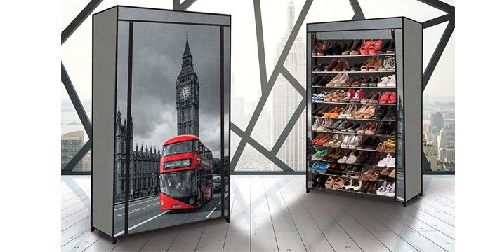24,90€ από 39,90€ για ένα Stand Αποθήκευσης 50 Ζευγαριών Παπουτσιών σε σχέδιο London ή Paris, με δυνατότητα παραλαβής και πανελλαδικής αποστολής στο χώρο σας από την DoneDeals Goods.