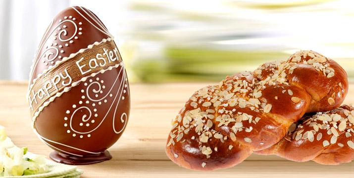 Από 7,90€ για Πασχαλινό Σοκολατένιο Αυγό και Τσουρέκι απλό ή με Γέμιση/Επικάλυψη Σοκολάτας, στο Gatoh Patisserie & Cafe στην Αργυρούπολη. εικόνα