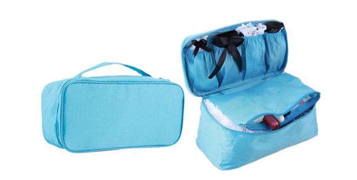 9,90€ από 16,90€ για μια Τσάντα Ταξιδίου Αποθήκευσης Εσωρούχων σε τρία χρώματα και διαστάσεων 26 x 14 x 12 cm, με δυνατότητα παραλαβής και πανελλαδικής αποστολής στο χώρο σας από την DoneDeals Goods. εικόνα