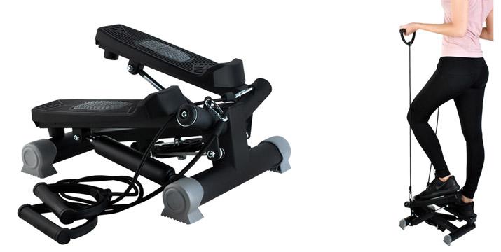 54,90€ από 79,90€ για ένα Stepper με Λάστιχα Γυμναστικής 2 σε 1 με Οθόνη LCD, 1 Χρόνο Εγγύηση καλής λειτουργίας και δυνατότητα παραλαβής και πανελλαδικής αποστολής στο χώρο σας από την DoneDeals Goods. εικόνα