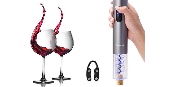 14,90€ από 29,90€ (-50%) για ένα Ηλεκτρικό Ανοιχτήρι Κρασιού – Τιρμπουσόν, με παραλαβή από το Idea Hellas στη Νέα Ιωνία και με δυνατότητα πανελλαδικής αποστολής στο χώρο σας.