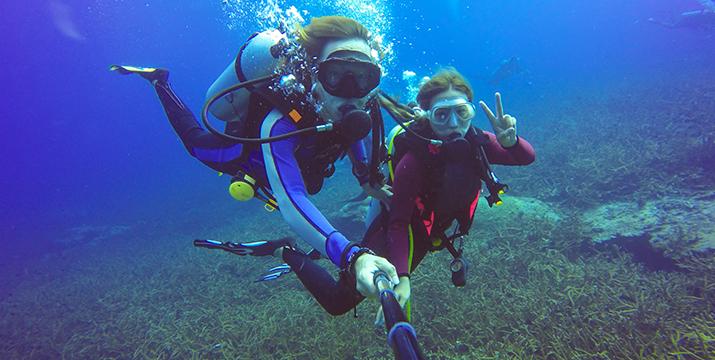 35€ από 60€ για 1 κατάδυση γνωριμίας (scuba diving) με υποβρύχια φωτογράφιση, αναψυκτικά και σνακ, στο πιστοποιημένο PADI καταδυτικό κέντρο Go Scuba Diving στην παραλία Αγίας Μαρίνας!