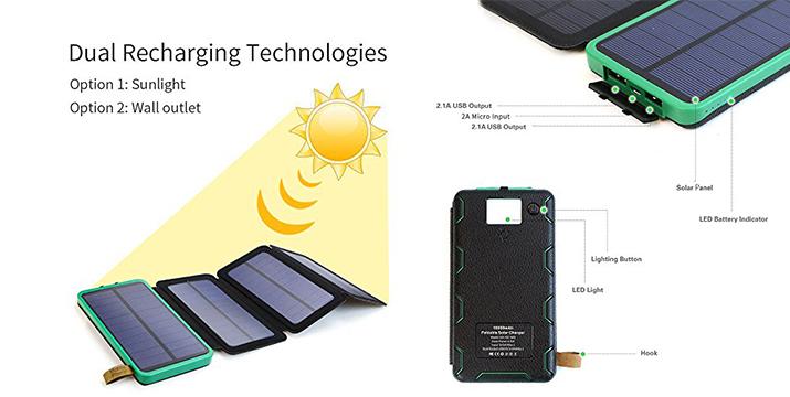 16,90€ από 29,90€ (-43%) για ένα Ηλιακό Power Βank 10.000mAh, με παραλαβή από το Idea Hellas στη Νέα Ιωνία και με δυνατότητα πανελλαδικής αποστολής στο χώρο σας.