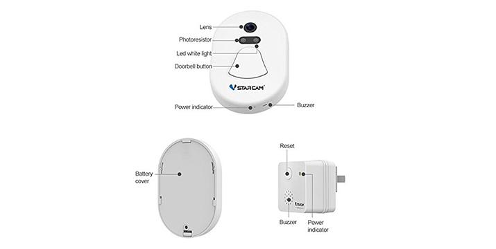 44,90€ από 79,90€ για ένα Ασύρματο Κουδούνι Πόρτας με Κάμερα και WiFi VStarcam με 1 Χρόνο Εγγύηση καλής λειτουργίας, με δυνατότητα παραλαβής και πανελλαδικής αποστολής στο χώρο σας από την DoneDeals Goods.