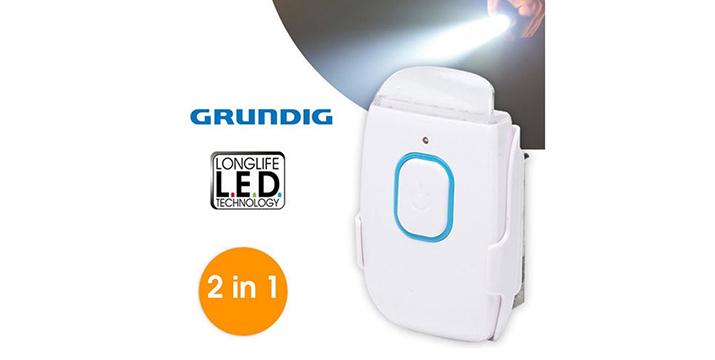 11,90€ από 19,90€ για ένα Φωτάκι Νυκτός - Φακός Grundig, με δυνατότητα παραλαβής και πανελλαδικής αποστολής στο χώρο σας από την DoneDeals Goods.